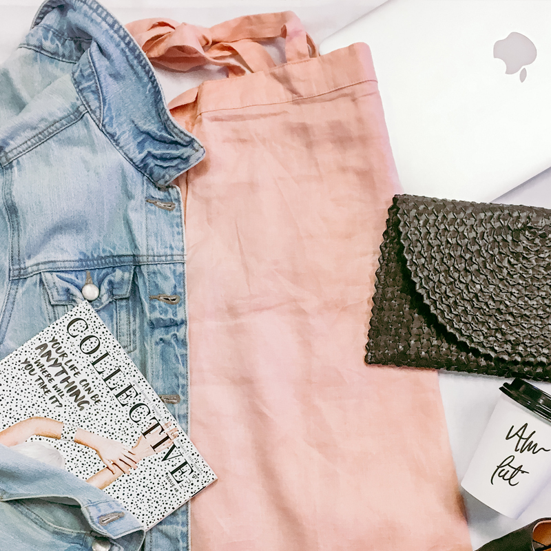 OOTD: Peach Dress & Jacket